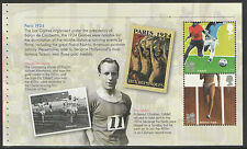 (OPG2) GB QEII Stamps. Olympic & Paralympic Prestige Booklet Pane ex DY5 2012