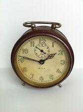 Vintage Rare HALLER GALA Big Alarm Clock Germany Vintage 50's