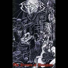 The Furor ‎– Sermon Of Slaughter Cassette Australian death/black metal band.