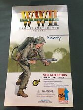 "Dragon 1/6 Scale 12"" WWII US USMC Flamethrower Private Sonny Action Figure 70169"