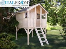 Wooden wendy house kids outdoor cottage kids playhouse ItalfromB2