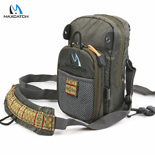 Fly Fishing Chest Pack Bag / Outdoor Sports Fishing Pack (8.5inches X 4.8inches)