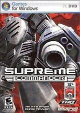 Supreme Commander (PC, 2007) New Factory Sealed
