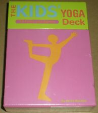 THE TEACH YOUR KIDS' YOGA DECK 50 POSES & GAMES ANNIE BUCKLEY ENGLISH AGES 4+
