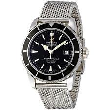 Breitling Superocean Heritage Black Dial Stainless Steel Mens Watch