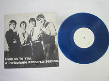 The Beatles From Us to You A Parlophone Rehearsal Session 1975 Blue Vinyl 10""