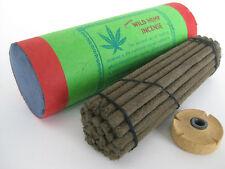 Wild Flora Hemp Oil Incense ~ Tibetan style fat sticks, natural herbal dhoop