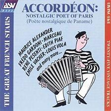 Accordeon Accordion : Nostalgic Poet of Paris 1928-1944 Recordings