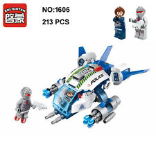Enlighten 1606 Space Adventure Airship Plane Robot Figure Building Blocks Toy
