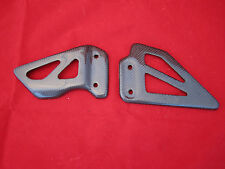 Carbon Fiber Heel Plates Suzuki GSXR 600 750 1000 K1 to K4 and TLS 1000 00 03