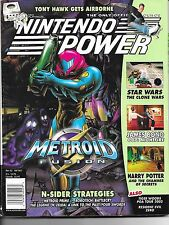 NINTENDO POWER #163 - ANIMAL CROSSING CARD & POSTER - Buy more and save!