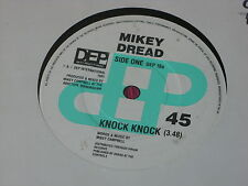 Mikey Dread:  Knock Knock   UK  NM   7""