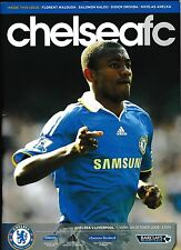 Football Programme CHELSEA v LIVERPOOL Oct 2008