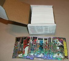 RARE OLD 1992 1993 PANINI NHL HOCKEY 330 STICKER CARD SETS & A-V GLITTER INSERTS
