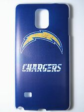 NFL San Diego Chargers Samsung Galaxy Note 4 N910 Plastic One-Piece Slim Case