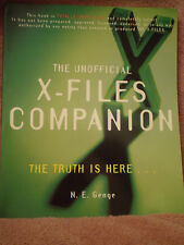 THE UNOFFICIAL X-FILES COMPANION-THE TRUTH IS HERE - BRAND NEW - P.BACK BOOK