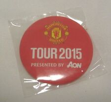 MANCHESTER UNITED FC 2015 USA TOUR PIN BUTTON BADGE WAYNE ROONEY