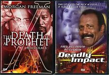 Death of a Prophet (DVD, 2004) & Deadly Impact (DVD, 2002) - 2 DVDs