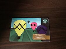 Starbucks Canada 2014 Limited Edition Hot Air Balloon Gift Card