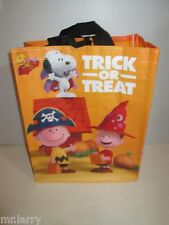 PEANUTS MOVIE SNOOPY HALLOWEEN TRICK OR TREAT TOTE BAG CHARLIE BROWN