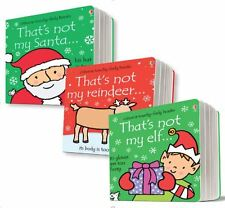 That's Not My... Christmas Set (3 Usborne Touchy-Feely Books) Santa, RRP £20.97