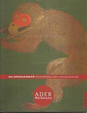 ADER NORDMANN INTO Private Collection Japanese Netsuke Inro Auction Catalog 2013