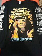 KING DIAMOND-SHIRT FATAL PORTRAIT SINDROME INTO THE HALLS OF EXTERMINATION