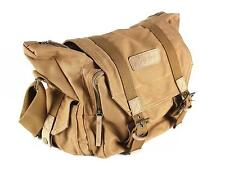 New Vintage Canvas Camera Backpack Rucksack Bag Case For DSLR Canon Nikon Sony