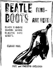 Warhol Andy Beatle Boots Canvas 16 x 20   #4785