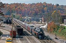 Original Photograph: Norfolk & Western 4-8-4 611 arr Oneida, TN
