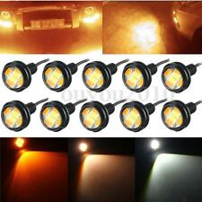 10x 23MM Switchback Dual Color Amber/White 5630 LED 6-SMD Eagle Eye Light DRL