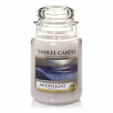 Yankee CANDLE Moonlight Jar 623g grosso bicchiere housewarmer CANDELA PROFUMATA