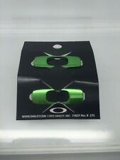 AUTHENTIC OAKLEY BATWOLF REPLACEMENT ICON TEAM GREEN 08-063 BRAND NEW