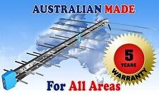 TV ANTENNA HIGH GAIN- ONE SOLID PIECE NO LOOSE OR  FOLDED ELEMENTS  MADE LOCALLY