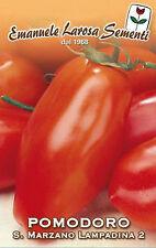 1000 Semi/Seeds POMODORO S.Marzano Lampadina 2