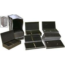 29 Jewelry Display Travel Trays Box & Carrying Case