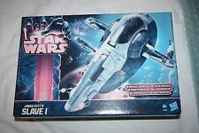 STAR WARS Classic Jango Fett & Slave 1 Vehicle - New - Hasbro