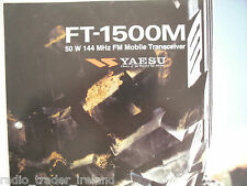 Yaesu ft-1500m (Genuino folleto sólo)............ radio_trader_ireland.