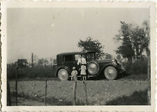 PHOTO ANCIENNE - VINTAGE SNAPSHOT - VOITURE AUTOMOBILE DELAGE - CAR 1930