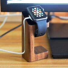 Support de bureau en bois Titulaire Chargeur Mont Stand Holder pour Apple Watch