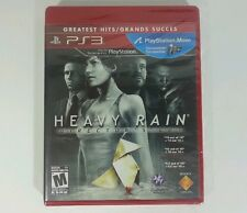 Heavy Rain Director's Cut  PlayStation 3 New Sealed