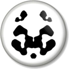 "Watchmen Rorschach 1"" 25mm Pin Button Badge Geek DC Comics Superhero Cult Face"