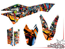 KTM 690 smc smc/r Enduro (08-16) | Graffiti Décor Décalques Kit sticker Graphics