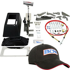 B&m 80675 Star Shifter 3 Speed Automatic Floor Shifter + Black B&M Hat