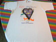 VINTAGE AIDS BENEFIT ROCK CONCERT TEE SHIRT CELINE DION EDDIE MONEY L.A. GUNS