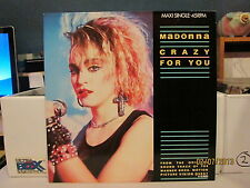 MADONNA--Crazy For You--Dutch UK 12' Vinyl LP--Holland--Journey, Sammy Hagar