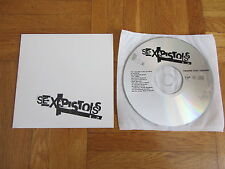 SEX PISTOLS God Save The Queen 2002 EURO promo CD single extended + dance mix