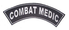 COMBAT MEDIC PATCH ROCKER FOR BIKER VETERAN VEST JACKET NEW