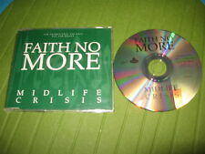 CD SINGLE FAITH NO MORE - MIDLIFE CRISIS - PROMO