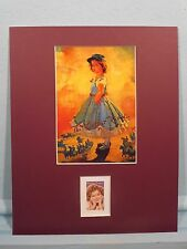 """Shirley Temple in """"The Littlest Rebel""""  honored by her own stamp"""